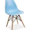 Krzesło Enzo niebieskie skandynawskie
