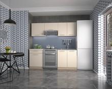 Bardzo prosta, niewielka, ale także funkcjonalna kuchnia Marija jest doskonałym rozwiązaniem do małych mieszkań i kawalerek. Pomimo niedużych rozmiarów...