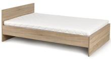 Łóżko Lima cechuje się prostą stylistyką i podobnym kształtem. Brak tu wszelkich udziwnień i ozdób. Dzięki temu mebel ten z łatwością dopasuje...