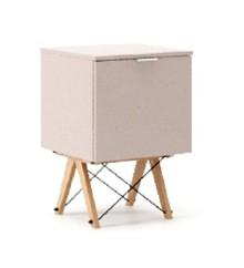 KONTENER ONE kolor DUSTY PINK stelaż BUK (standard)  Praktyczny i pojemny kontener z półkami, idealny jako uzupełnienie biurka BASIC lub samodzielna...