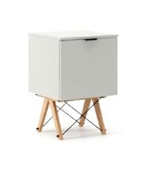 KONTENER ONE kolor LIGHT GREY stelaż BUK (standard)  Praktyczny i pojemny kontener z półkami, idealny jako uzupełnienie biurka BASIC lub samodzielna...