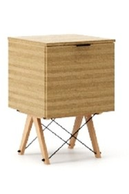 KONTENER ONE kolor RAW OAK stelaż BUK (standard)  Praktyczny i pojemny kontener z półkami, idealny jako uzupełnienie biurka BASIC lub samodzielna...