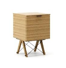KONTENER ONE kolor RAW OAK stelaż DĄB  Praktyczny i pojemny kontener z półkami, idealny jako uzupełnienie biurka BASIC lub samodzielna szafka. Wykonany...