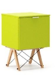 KONTENER ONE LUXURY COLORS stelaż BUK (standard)  Praktyczny i pojemny kontener z półkami, idealny jako uzupełnienie biurka BASIC lub samodzielna...