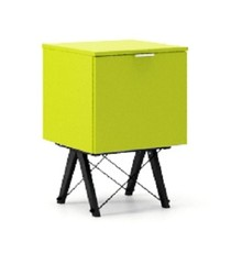 KONTENER ONE LUXURY COLORS stelaż BUK BLACK  Praktyczny i pojemny kontener z półkami, idealny jako uzupełnienie biurka BASIC lub samodzielna szafka....