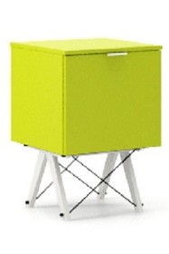 KONTENER ONE LUXURY COLORS stelaż BUK WHITE  Praktyczny i pojemny kontener z półkami, idealny jako uzupełnienie biurka BASIC lub samodzielna szafka....