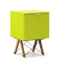 KONTENER ONE LUXURY COLORS stelaż DĄB  Praktyczny i pojemny kontener z półkami, idealny jako uzupełnienie biurka BASIC lub samodzielna szafka. Wykonany...