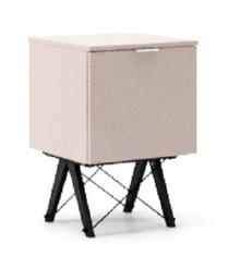 KONTENER KIDS ONE kolor DUSTY PINK stelaż BUK BLACK  Praktyczny i pojemny kontener z półkami, idealny jako uzupełnienie biurka BASIC lub samodzielna...
