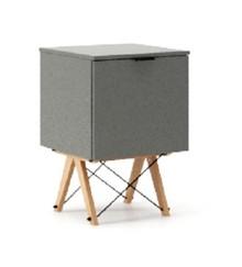KONTENER KIDS ONE kolor GREY stelaż BUK (standard)  Praktyczny i pojemny kontener z półkami, idealny jako uzupełnienie biurka BASIC lub samodzielna...