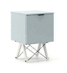 KONTENER KIDS ONE kolor ICE BLUE stelaż BUK WHITE  Praktyczny i pojemny kontener z półkami, idealny jako uzupełnienie biurka BASIC lub samodzielna...