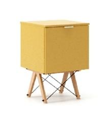 KONTENER KIDS ONE kolor LIGHT MUSTARD stelaż BUK (standard)  Praktyczny i pojemny kontener z półkami, idealny jako uzupełnienie biurka BASIC lub...