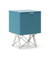 KONTENER KIDS ONE kolor OCEANIC stelaż BUK WHITE  Praktyczny i pojemny kontener z półkami, idealny jako uzupełnienie biurka BASIC lub samodzielna...