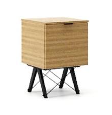 KONTENER KIDS ONE kolor RAW OAK stelaż BUK BLACK  Praktyczny i pojemny kontener z półkami, idealny jako uzupełnienie biurka BASIC lub samodzielna...