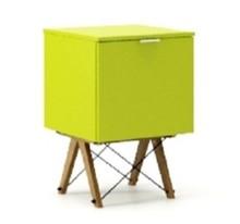 KONTENER KIDS ONE LUXURY COLORS stelaż DĄB  Praktyczny i pojemny kontener z półkami, idealny jako uzupełnienie biurka BASIC lub samodzielna szafka....