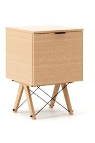 KONTENER KIDS ONE LUXURY WOOD blat BUK stelaż BUK (standard)  Praktyczny i pojemny kontener z półkami, idealny jako uzupełnienie biurka BASIC lub...
