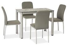 Stół DAMAR 100x60 - szary