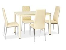 Stół GALANT 110x70 - kremowy