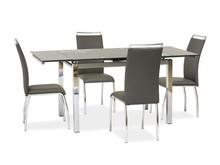 Stół rozkładany GD-017 110x74 - szary