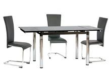 Stół rozkładany GD-018 110x74 - czarny