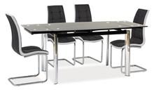 Stół rozkładany GD-020 120x80 - czarny