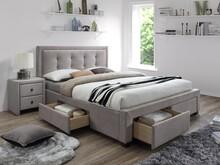 Łóżko Evora to mebel stylowy, który przypadnie do gustu wymagającym osobom. Przyjemna w dotyku tkanina, która zostało obite, jest w ciepłym,...