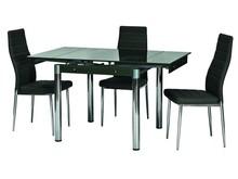 Stół rozkładany GD-082 80x80 - czarny