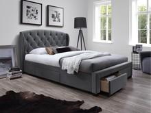 Łóżko Sabrina to niezwykle efektowny mebel, który przypadnie do gustu nawet bardzo wymagającym osobom. Cechuje się piękną i elegancką stylistyką,...