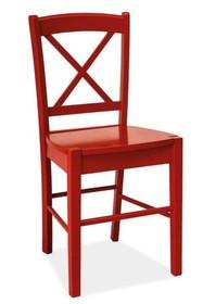 Krzesło CD-56 - czerwony