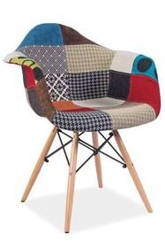 Krzesło DENIS A - patchwork