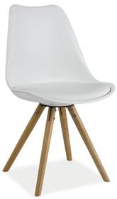Krzesło Eric to mebel o prostej stylistyce, która z łatwością dopasuje się do bardzo wielu aranżacji. Będzie świetnym rozwiązaniem do wnętrz...