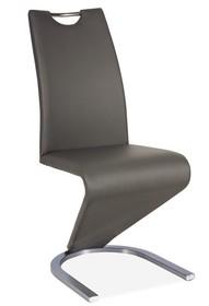 Krzesło H-090 stal - szary