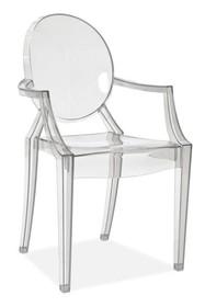 Krzesło LUIS - przezroczysty