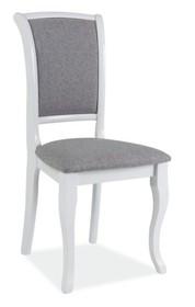 Krzesło MN-SC - biały/szary