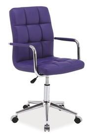 Fotel obrotowy Q-022 - fioletowy