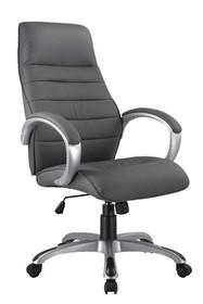 Fotel biurowy Q-046 - szary