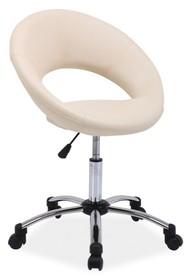 Elegancja i klasa! Bardzo pomysłowy fotel obrotowy Q-128 spodoba się klientom szukającym rozwiązań niebanalnych i oryginalnych. Mebel ten cechuje się...