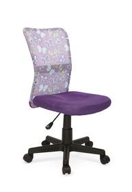 Fotel młodzieżowy DINGO - fioletowy