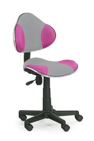 Fotel młodzieżowy FLASH 2 - popielato-różowy