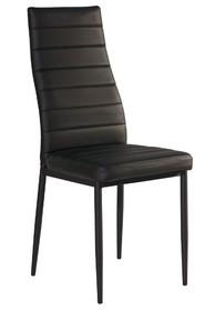 Krzesło H-261c - czarny