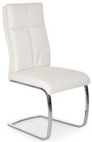 Krzesło na płozach K231 - biały