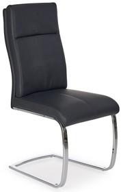 Krzesło na płozach K231 - czarny
