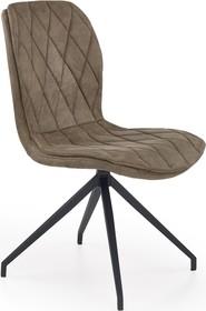 Wymiary:  -Wysokość: 90 cm -Wysokość siedziska: 49 cm -Szerokość: 49 cm -Głębokość: 62 cm  Maksymalne obciążenie: 120 kg  Materiał: ...