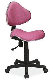 Fotel obrotowy Q-G2 wzór - róż