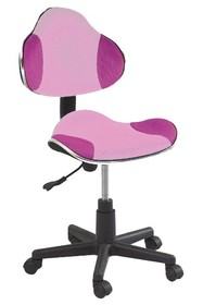 Fotel obrotowy Q-G2 - różowy