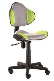 Fotel obrotowy Q-G2 - szary/zielony