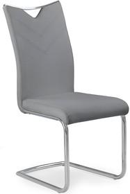 Wymiary:  - szerokość: 44 cm - głębokość: 59 cm - wysokość: 100 cm - wysokość siedziska: 47 cm  Materiał:  - stal chromowana - eco skóra ...