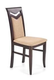 Krzesło CITRONE - wenge/beż