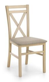 Krzesło DARIUSZ - dąb sonoma/brąz