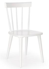 Wymiary:  - Wysokość: 89 cm -Wysokość siedziska: 45 cm - Szerokość: 50 cm - Głębokość: 45 cm  Materiał:  - drewno lite kauczukowe ...