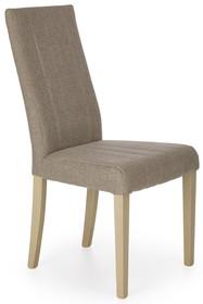 Krzesło DIEGO - jasny brąz/dąb sonoma